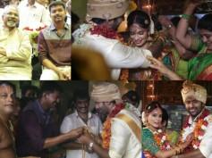 Photos: Shanthanu-Keerthy Wedding Attended By Ilayathalapathy Vijay, Mani Ratnam & Many Others!