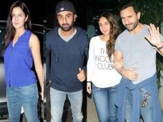 Family Bonding? Ranbir Kapoor-Katrina Kaif Spotted With Kareena Kapoor-Saif At Phantom Screening