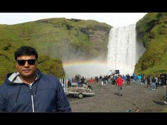 Leaked Pic! Shahrukh Khan And Kajol Shooting For Romantic Track In Iceland!