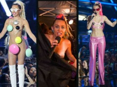 MTV VMAs 2015: Host Miley Cyrus' Nip Slip & Insane Outfits