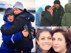 Latest Pictures: Shahrukh Khan And Kajol Spotted Shooting In Iceland For Dilwale