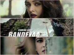 Watch Bandeyaa Teaser From Jazbaa! Aishwarya Never Fails To Look Phenomenal