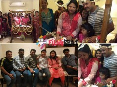 PICS: Ganesh And Shilpa Ganesh Son Vihaan's Naming Ceremony