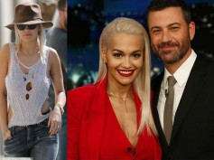 Red Hot Rita Ora Goes Braless, Later Performs Body On Me With Chris Brown At Jimmy Kimmel Live
