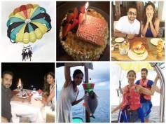 PICS: Shilpa Shetty's Romantic Birthday Surprise For Raj Kundra, Will Make You Go Awww!