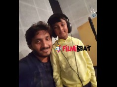 Challenging Star Darshan's Son Vineesh Completes Dubbing For 'Mr Airavata'