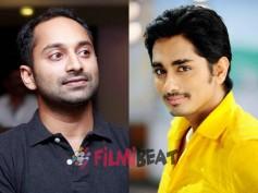 Siddharth Narayan Replaces Fahadh Faasil!