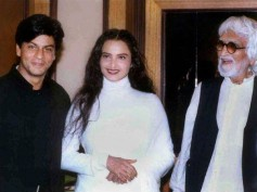 M F Husain's 100th Anniversary! His Rare Pictures With Shahrukh Khan & Rekha.