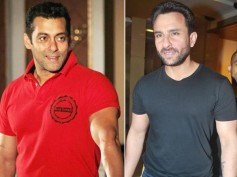 Salman Khan And Saif Don't Get Along Any More! Here Is Why?