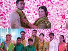 PHOTOS: Radhika's Daughter Rayane Engagement With Cricketer Abhimanyu