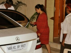 Spotted Again! Rani Mukerji With Her Baby Bump
