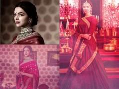 JAW DROPPING PICS! Deepika Padukone's Photoshoot In Traditional Saree!