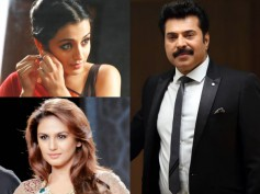 It's Not Trisha; But Huma Qureshi With Mammootty