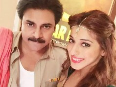 Pawan Kalyan-Lakshmi Rai's Selfie At Sardaar Gabbar Singh Sets Shakes Twitter