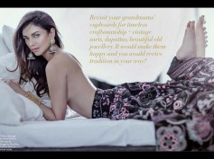 Aditi Rao Hydari Goes Topless For Magazine, See Her Sensuous Pics Here!