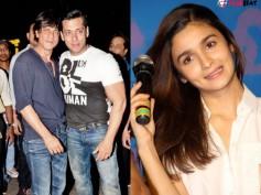 MUST READ! Alia Bhatt Has Something To Say About Shahrukh Khan & Salman Khan!