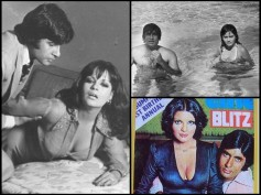 B'Day Spl: Vintage Pics Of Amitabh Bachchan With Bikini Clad Zeenat Aman In Pool