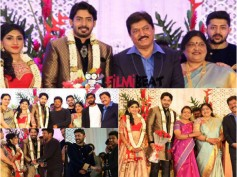 PHOTOS: Prajwal Devaraj And Ragini Chandran Wedding Reception