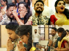 PHOTOS: Archana Kavi & Abish Mathew Gets Engaged