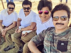 PIC OF THE DAY: Pawan Kalyan's Selfie With Sardaar Gang