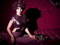 The Stunning Kangana Ranaut On The Cover Page Of Bazaar