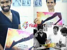 FLASH NEWS: Vinay Rajkumar's Next Titled 'Run Antony'