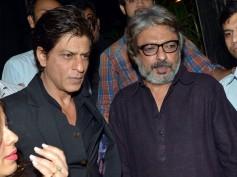 No Clash! Shahrukh Khan Hugs Sanjay Leela Bhansali