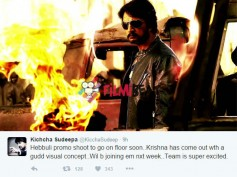 JUST IN: Sudeep Is All Excited About Hebbuli, Confirms It On Twitter!