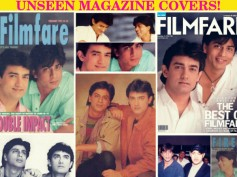 TOO GOOD TO MISS: Shahrukh-Aamir Khan's Unseen Magazine Covers From Their Old Days!