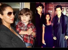 OMG! Shahrukh Khan Is Biased Towards AbRam, Feels Aryan Khan & Suhana Khan