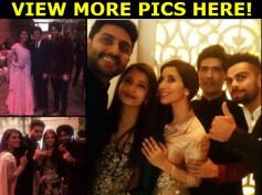 EPIC PIX! Shahrukh Khan & Aishwarya-Abhishek Bachchan With Virat Kohli & Harbhajan Singh-Geeta Basra