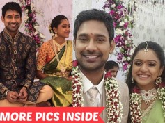 EXCLUSIVE! Pictures From Varun Sandesh And Vithika Sheru's Engagement