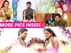 ADORABLE! Varun Sandesh And Vithika Sheru's Engagement Pictures