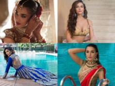 10 Stunning & Beautiful Pics Of Amy Jackson In Indian Traditional Wear!