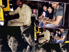 After Salman Khan, Now Hrithik Roshan Takes An Auto Ride Back Home With His Sons!