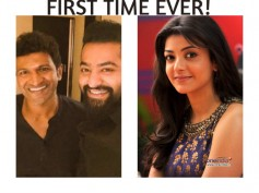 FIRST TIME EVER! Kajal Aggarwal To Sing For Chakravyuha With Puneeth Rajkumar
