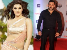 Chick Magnet: Jacqueline Fernandez Tries To Cozy Up With Salman Khan At Filmfare!