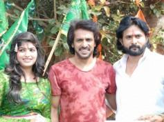 PIC TALK: Upendra Launches Srinagara Kitty's Next 'Ae Ram'