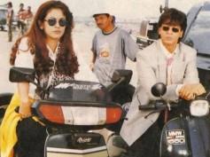 Flashback: 15 Sweetest Pics Of Shahrukh Khan & Juhi Chawla From Yes Boss