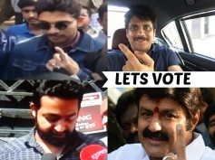 #GHMCElections: Tollywood Stars Came Out To Cast Their Votes
