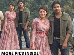 PICS: Pawan Kalyan & Kajal Aggarwal From The Sets Of Sardaar Gabbar Singh