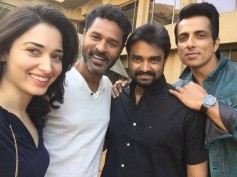 Tamannaah Nervous About Romancing Prabhu Deva In Her Next!