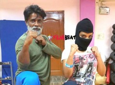 Guess The Lady Ninja With Duniya Vijay In Maasthi Gudi!