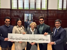 PHOTOS: Hrithik Roshan, Sonakshi Sinha & Anil Kapoor Honoured By The Mayor Of Madrid!