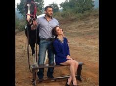 Salman Khan Horses Around With Elli Avram & Its Amazing!