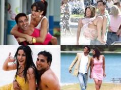 Akshay Kumar & Katrina Kaif's Happiest Moments In Pictures!