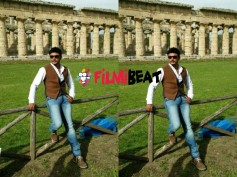 'Jaggu Dada', Darshan Is In Love With Italy!