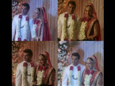 Officially Married Now! Bipasha Basu & Karan Singh Grover Exchange Garlands (See Pictures)