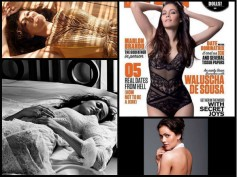 Hot Bikini Photoshoot! SRK's Fan Movie Co-star Waluscha De Sousa On The FHM April Edition!