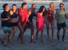Woah! Priyanka Chopra & Dwayne Johnson Spotted On The Sets Of Baywatch [Photos]